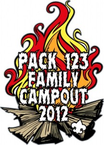 Family Campout Patch Design Idea
