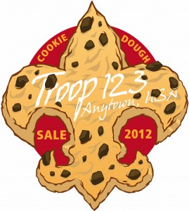 Cookie Dough Patch Design Idea