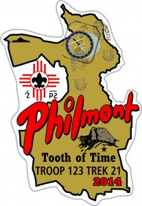 Philmont Map Patch Design Idea