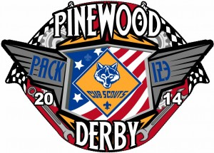 Pinewood Derby Patch Design Idea