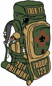 Philmont Backpack Patch Design Idea
