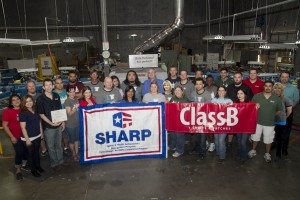 SHARP award from OHSA for ClassB