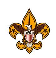 boy scout program logo universal emblem