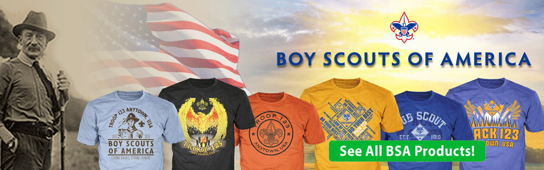 Boy Scout of America Home Page Banner
