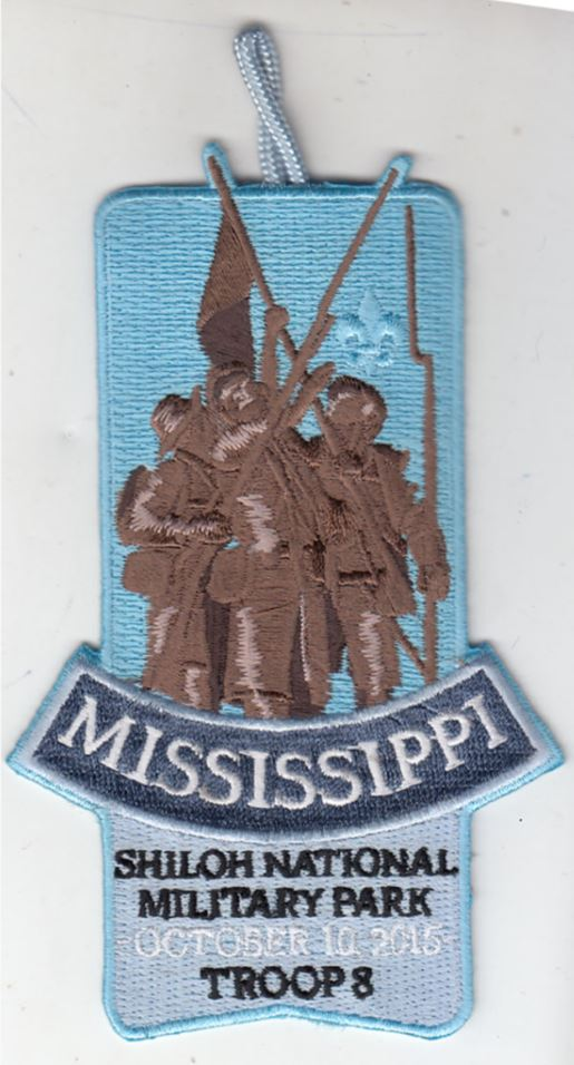 Finished Mississippi Monument Shiloh Patch