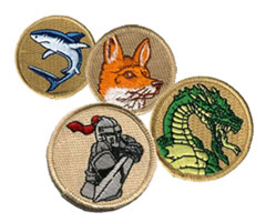 custom scout troop patrol patches
