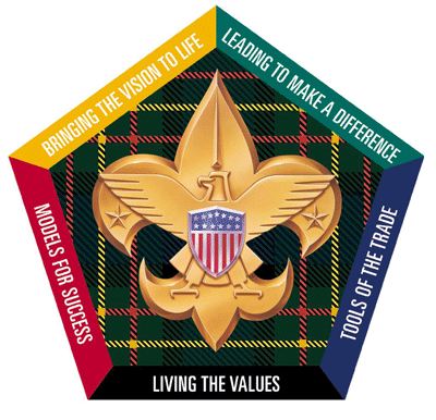 wood badge program logo