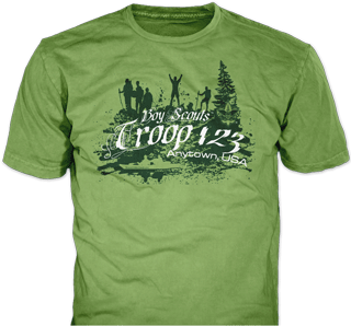 Boy Scout Class B Shirt Designs