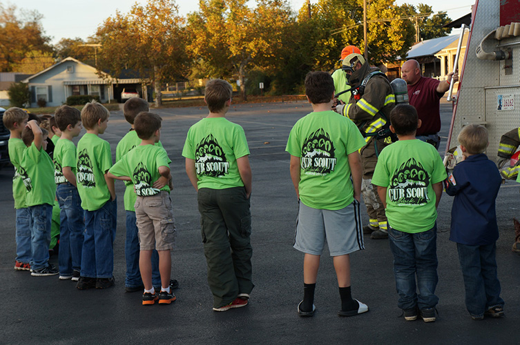 71 photos of cub scouts wearing custom Cub Scout Pack t-shirts from ClassB