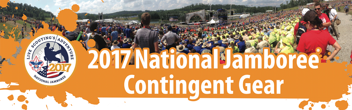 2017 national jamboree contingent custom gear header boy scout jamboree