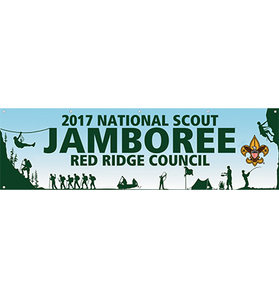 Custom jamboree banners from classB