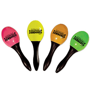 Custom jamboree maracas from classB
