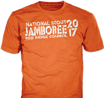National scout jamboree 2017 t-shirt design idea sp6512