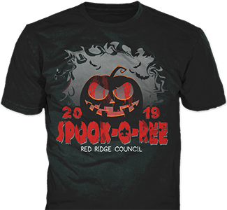 Spook-o-ree t-shirt design idea SP6026
