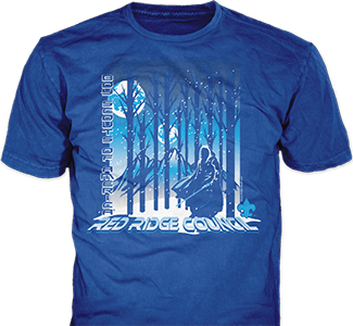 council winter camp t-shirt design idea SP6030