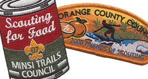 council fundraising event example patches