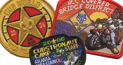 custom bsa council patch examples