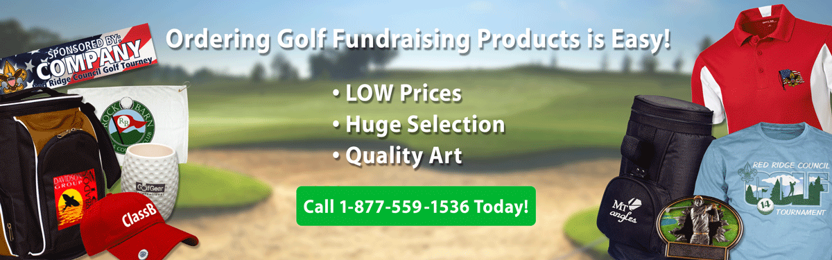 Golf Tournament fundraiser header