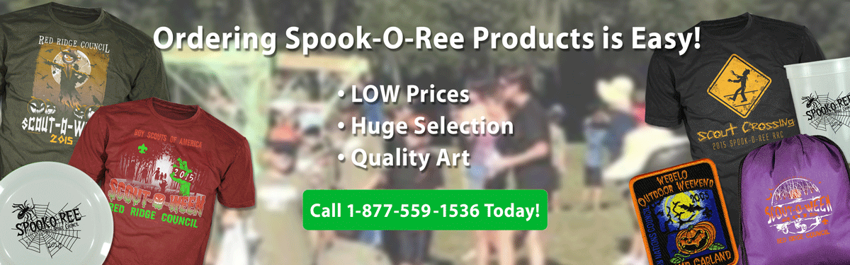 Spook-O-Ree products header