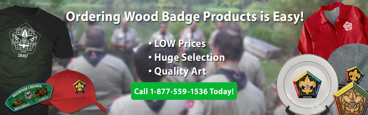 Wood Badge Course products header