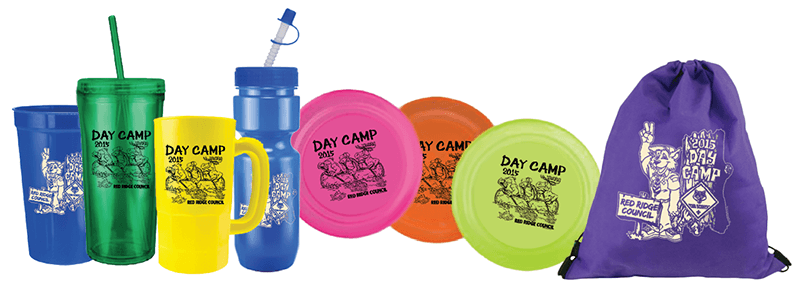 cub scout day camp promotional products