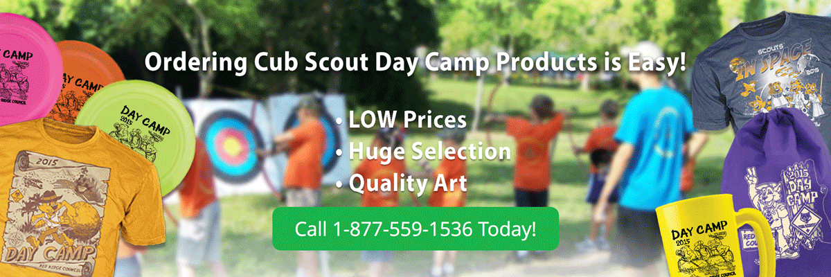 cub Scout day camp products header