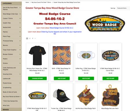council wood badge fulfillment website