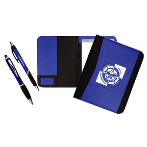 NYLT pens and folders