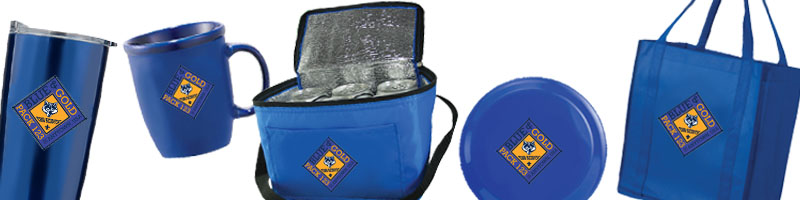 Cub Scout pack blue and gold banquet gifts