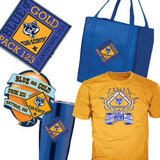 cub scout blue and gold banquet gear