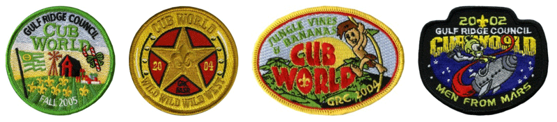 cub scout day camp patch examples