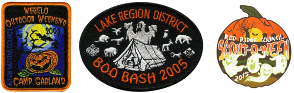 spook-o-ere halloween patches