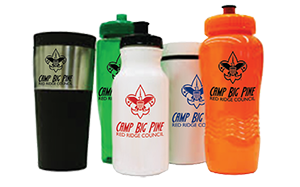 custom drink ware for boy scout camps