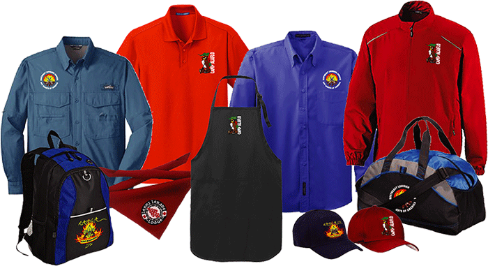 boy scout council event embroidered apparel