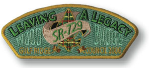 wood badge course css patch example leaving a legacy