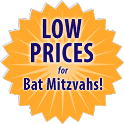 low prices for Bat mitzvah custom t-shirts medallion