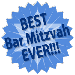 best bar mitzvah party ever medallion