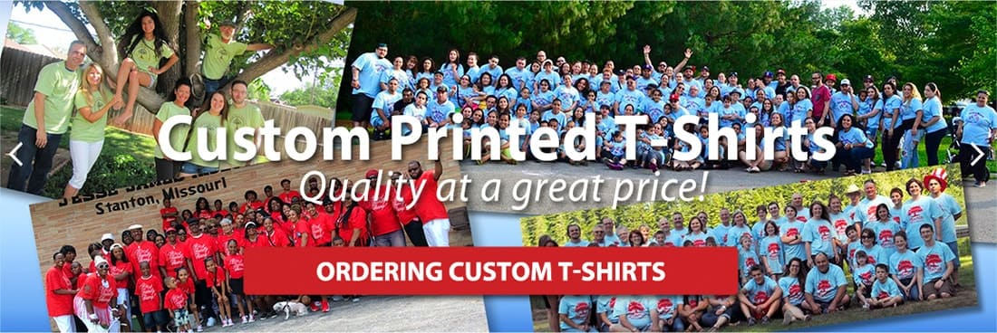 Custom T-Shirts for Groups and Organizations