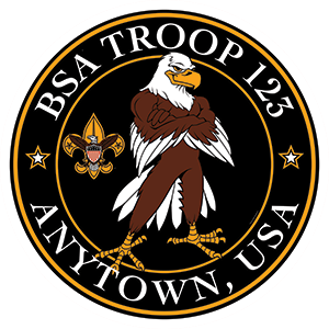Eagle Scout Troop Trailer Graphic