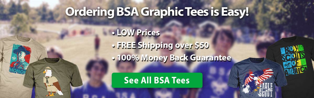 bsa custom t-shirts ordering is easy •low prices •free shipping