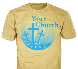 Church Custom T-Shirts | Embroidery - ClassB® Custom Apparel ...