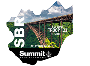 SBR Summit Bechtel Reserve Troop Trailer Bridge Graphic