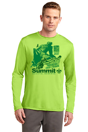 Wicking Performance Summit Bechtel Reserve long sleeve T-shirt