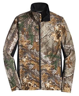 Camouflage Soft Shell Jacket