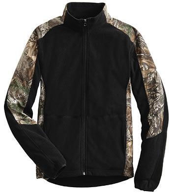Microfleece Full-Zip Jacket Max-5 Camouflage