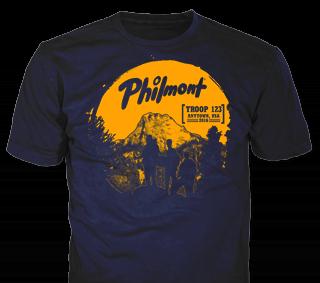 Philmont Scout Ranch custom t-shirt design