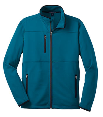 Pique Fleece Jacket Blue Glacier
