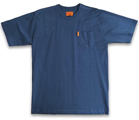 Pocketed Shooter Shirt Light Navy