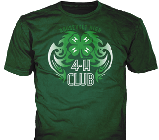 4-H Club T-Shirt Design Ideas from ClassB