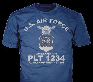 Air Force t-shirt design template